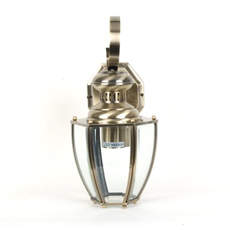 Side view wall lamp Norma with clear glass