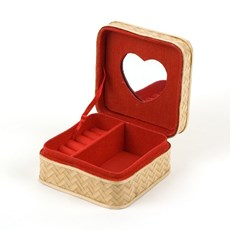Bamboo Ring Box