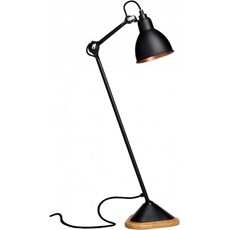 La Lampe Gras Table Lamp with oak base Bernard