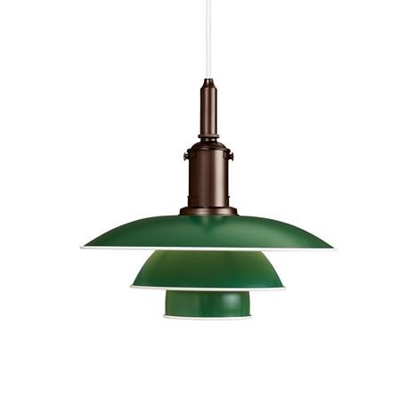 Louis Poulsen PH 3½-3 Hanging Lamp in green