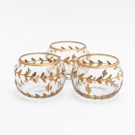 Set of 3 Tea-Light Holders Aurelia