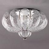 Venetian Ceiling Lamp Bellezza Transparent