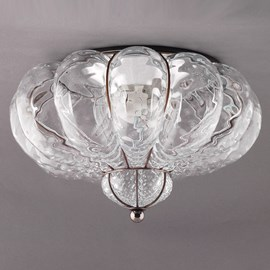 Venetian Ceiling Lamp Bellezza Transparent