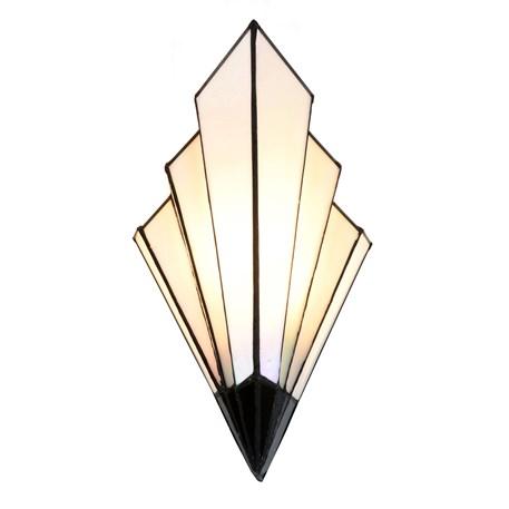 French Art Deco Tiffany Wall Lamp