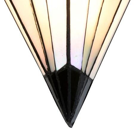 French Art Deco Tiffany Wall Lamp Detail