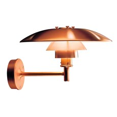Louis Poulsen  PH Outdoor Wall Lamp Copper