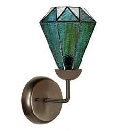 Tiffany Wall fixture with Arata Green
