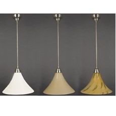 Hanging Lamp Graceful Cono in 3 Colours and 3 Sizes