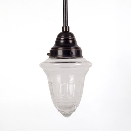 Hanging Lamp Crystal Clear