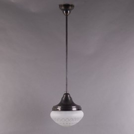 Hanging Lamp Coupe Extra Cut Etched