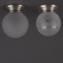 Ceiling Lamp Etched