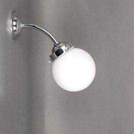 Outdoor/ Large Bathroom Wall Lamp Globe