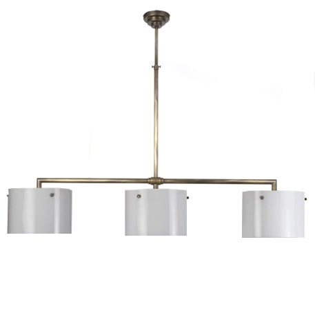 T-Hanging Lamp Rectangular with 3 Open Cylinders