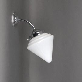 Outdoor/ Bathroom Wall Lamp Pointy Cone