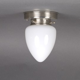 Ceiling Lamp Ellipse in Opal White