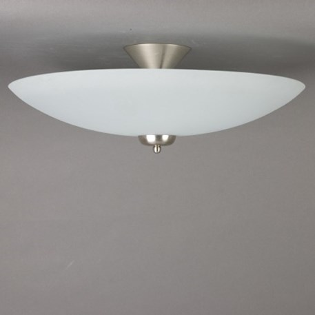 Etched 50cm glass scale with matt nickel fixture