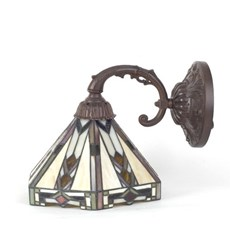 Wall Lamp Tiffany with Various Lampshades
