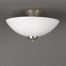 Ceiling Lamp Glass Bowl 33cm