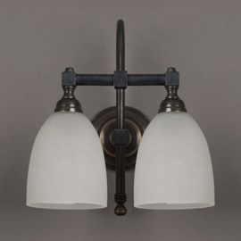 Bathroom Lamp Cup Arched with 2 Lights