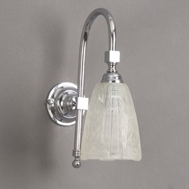 Bathroom Lamp Etched Lampshades Large Arch