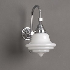Bathroom Lamp Hacktop with Large Arch
