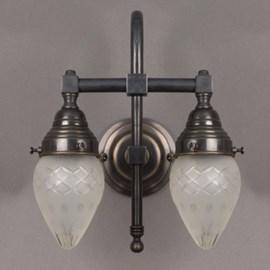 Bathroom Lamp Ellipse 2-Lights Large Arch