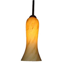 Hanging Lamp Marbled Tulip