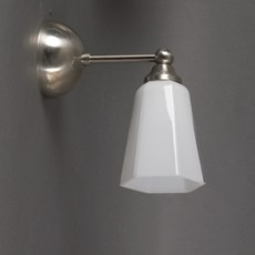 Wall Lamp with several E-14 Glass Lampshades