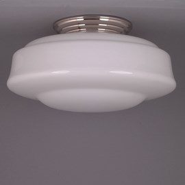 Ceiling Lamp Opal Saucer