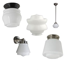 Lamps with fit 8 cm.