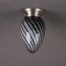 Ceiling Lamp Black and White