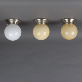 Ceiling Lamp Globe in various models