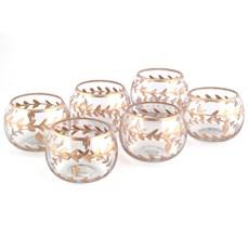 Set of 6 Tea-Light Holders Aurelia