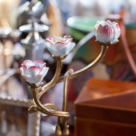 Candlestick Nouveau Rose
