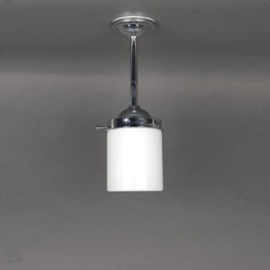 Outdoor/ Large Bathroom Pendant Lamp Cylinder