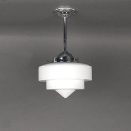Outdoor/ Large Bathroom Pendant Lamp Stepped