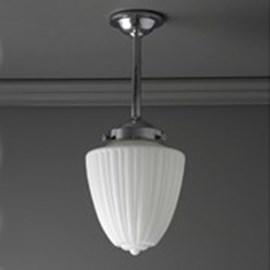 Outdoor/ Large Bathroom Hanging Lamp Antique