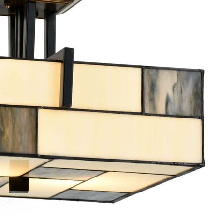 Tiffany Ceiling Lamp Mondrian Detail