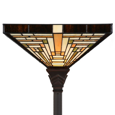Tiffany Floor Lamp Rising Sun