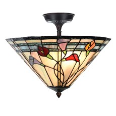 Tiffany  Elongated  Ceiling Lamp Calla
