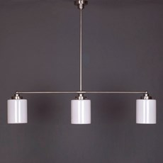 Hanging Lamp 3-Light with Sleek Cylinder