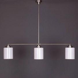 Hanging Lamp 3-Light with Sleek Cylinder