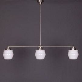 Hanging Lamp 3-Light with Flower Bud