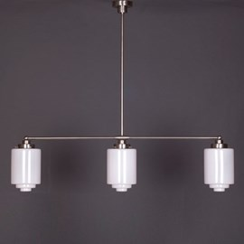 Hanging Lamp 3-Light with Stepped Cylinder