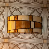 Tiffany Wall Lamp / Ceiling Lamp Roundabout