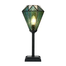 Tiffany Table Lamp Arata Green