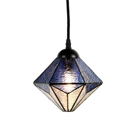 Tiffany Pendant Lamp Akira Blue