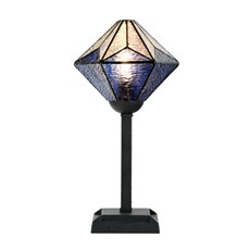Tiffany Table Lamp Akira Blue