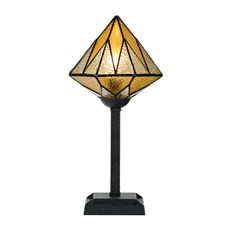 Tiffany Table Lamp Aiko Yellow