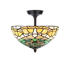Tiffany  Elongated  Ceiling Lamp Campanula